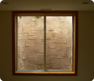 Italian Slate Custom Basement Window Well Liner